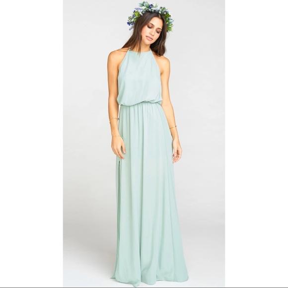 Show me your MuMu Heather Halter Dress Medium